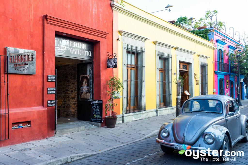 Strade coloniali a Oaxaca