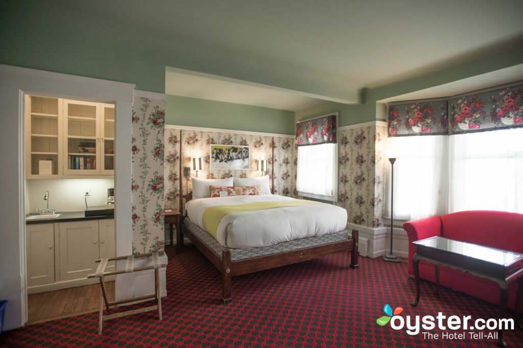 Quarto King Deluxe no White Swan Inn
