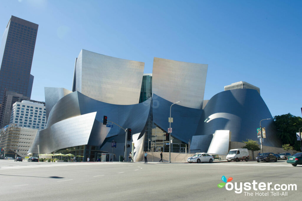Disney Concert Hall, no centro de Los Angeles