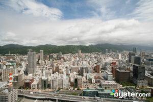 View from Hotel Okura Kobe