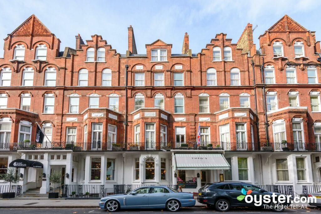 Ingresso all'Hotel Indigo London Kensington