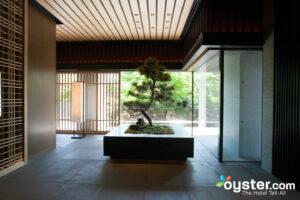 Entrance at The Ritz-Carlton Kyoto