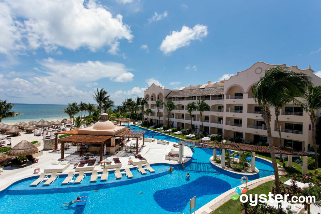 Suíte Júnior Excellence Club Ocean Front no Excellence Riviera Cancun