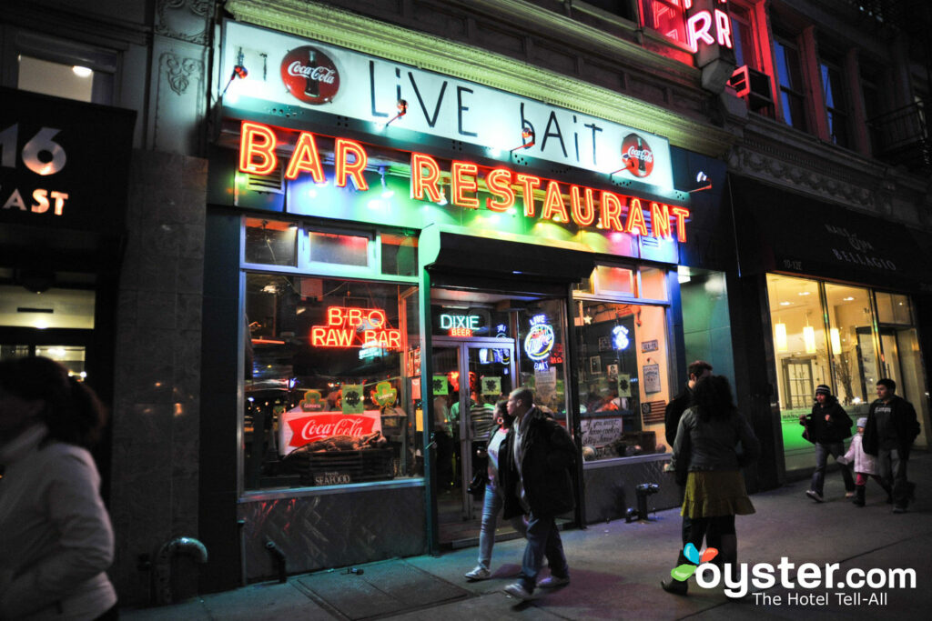 Live Bait in Flatiron, New York