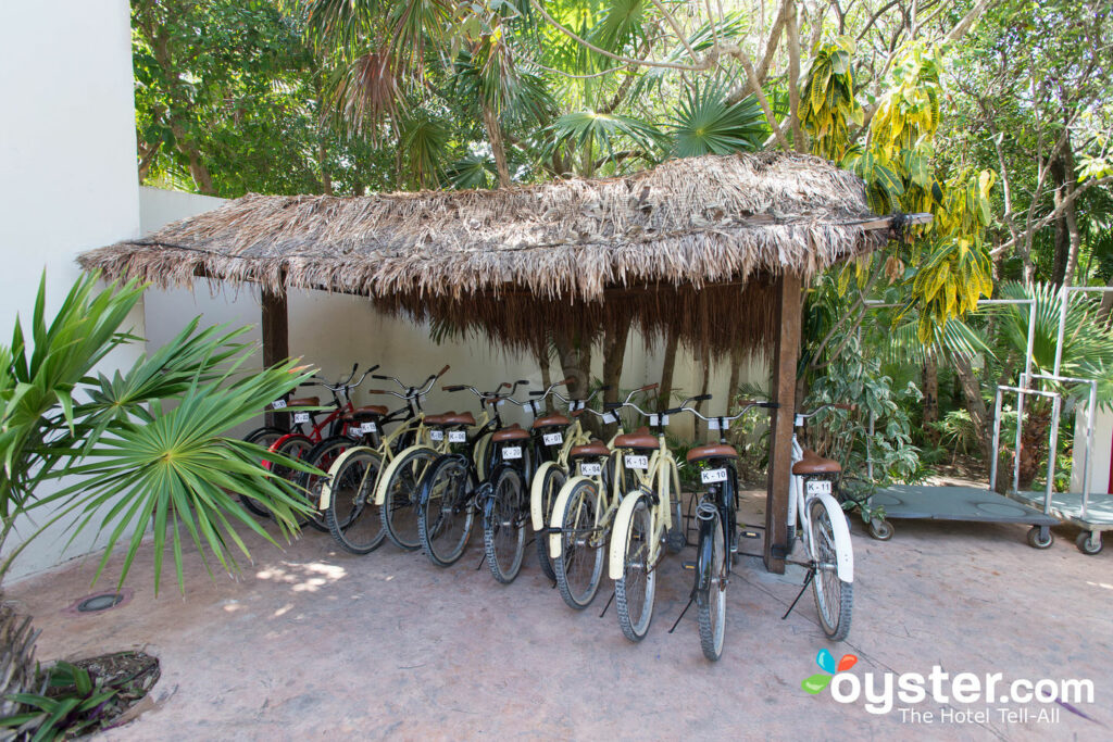 Free Rental Bikes at Kore Tulum Retreat and Spa Resort