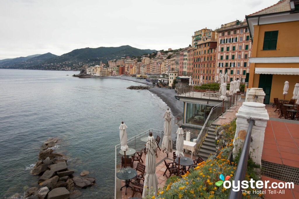 Grounds at Hotel Cenobio Dei Dogi, Camogli
