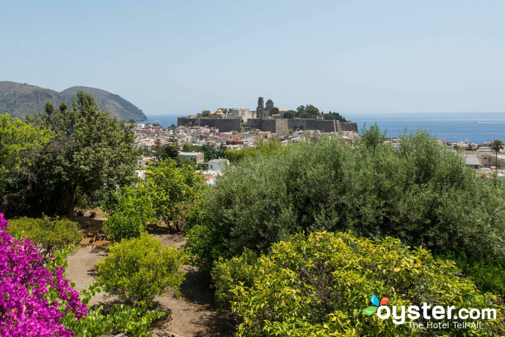 View from Villa Diana, Lipari