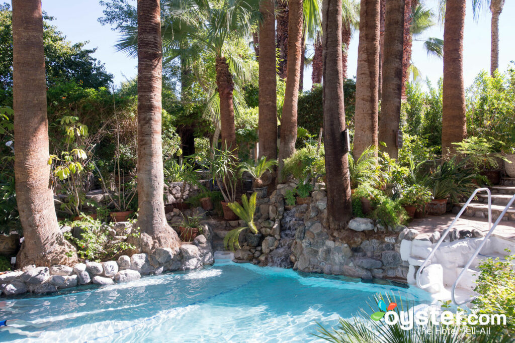 The Hot Mineral Springs Grotto at Two Bunch Palms