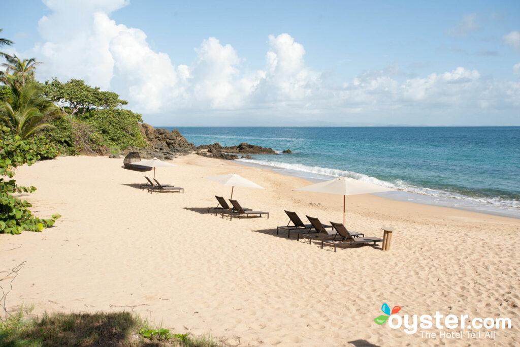 Playa en W Retreat & Spa - Isla de Vieques, Puerto Rico