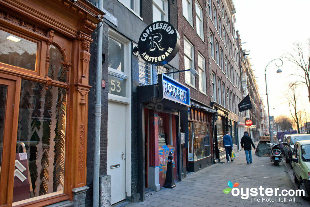 Street in Jordaan, Amsterdam