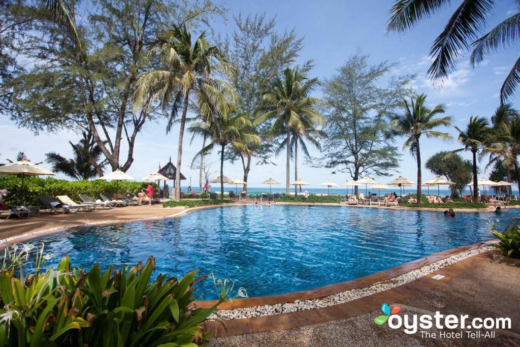 Piscina em Katathani Phuket Beach Resort