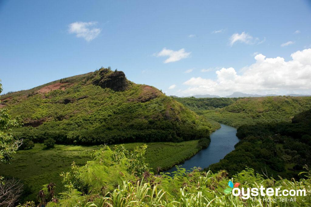 Chutes d'Opaekaa, Kauai