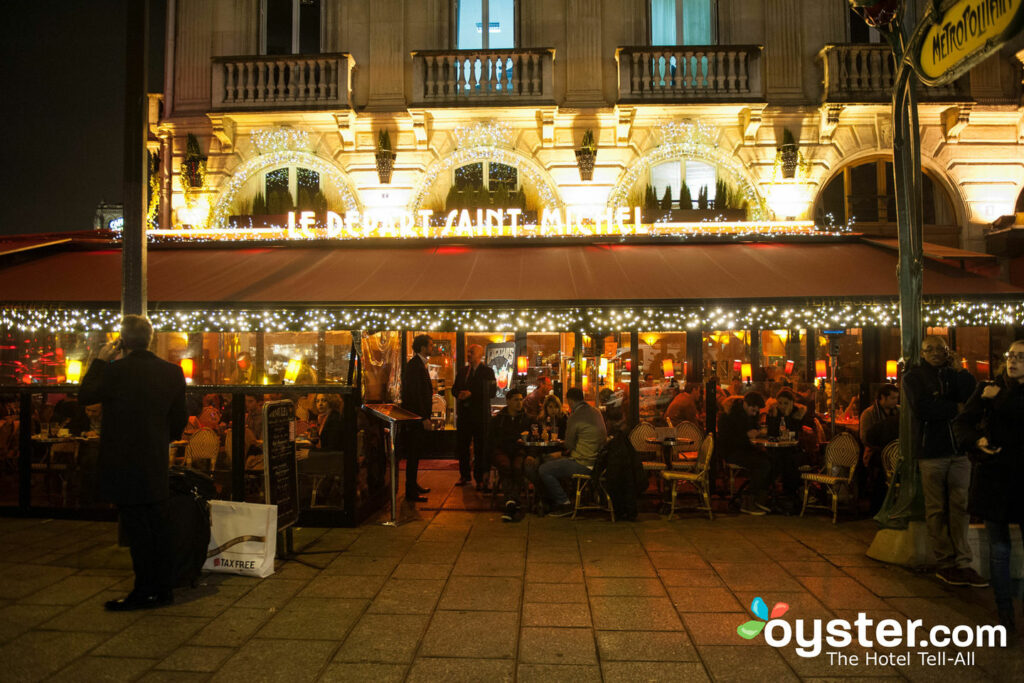 The Latin Quarter at Night/Oyster