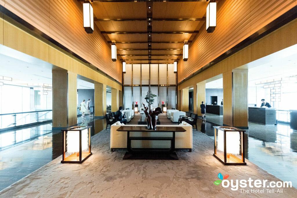 Lobby at Mandarin Oriental, Tokyo