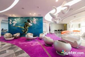 Lobby at Temptation Cancun Resort