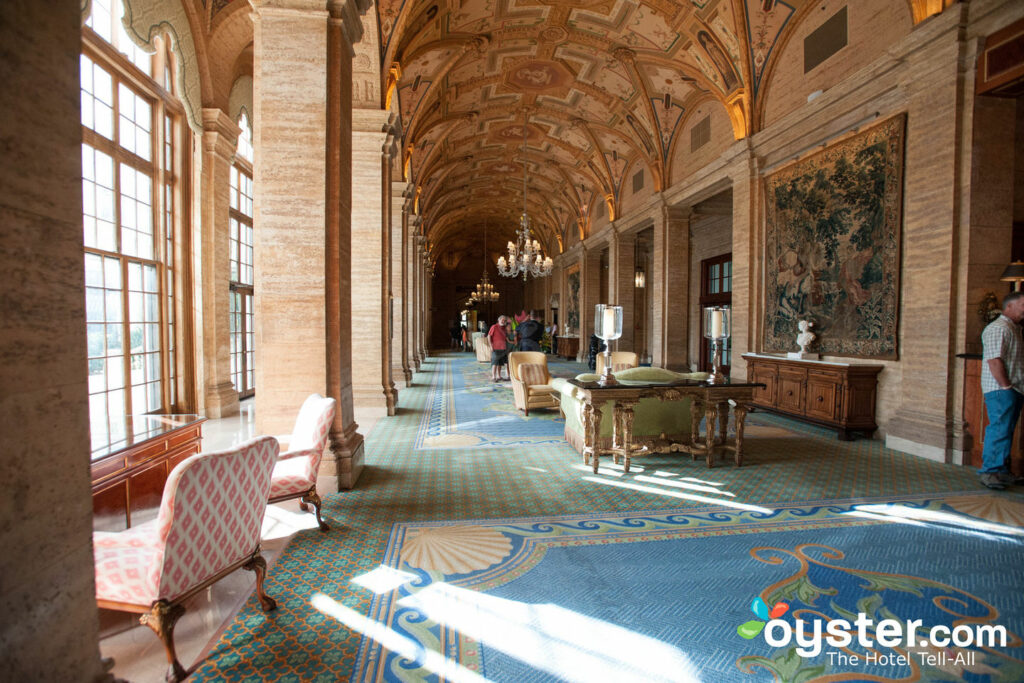 Lobby en The Breakers, Palm Beach