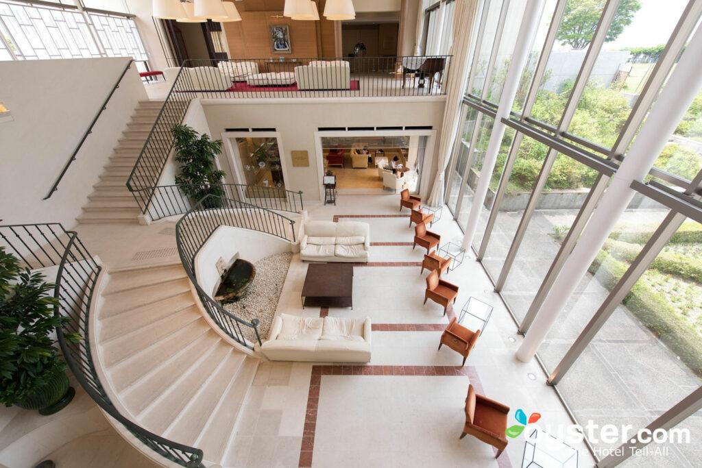Lobby en el Hotel de Hiei