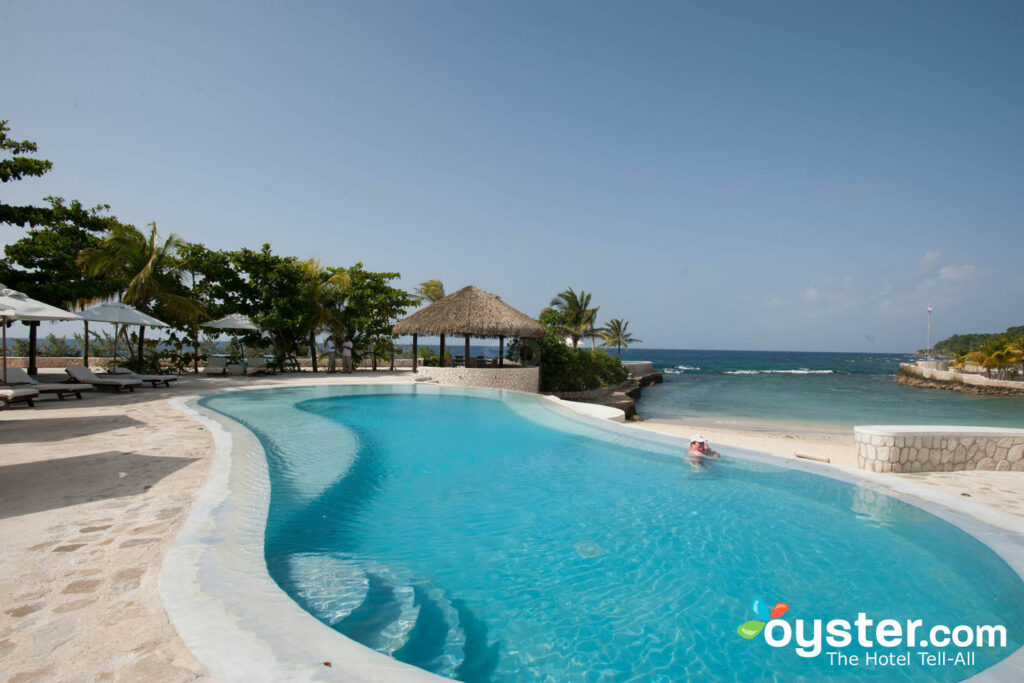 Main Pool at GoldenEye, Jamaica