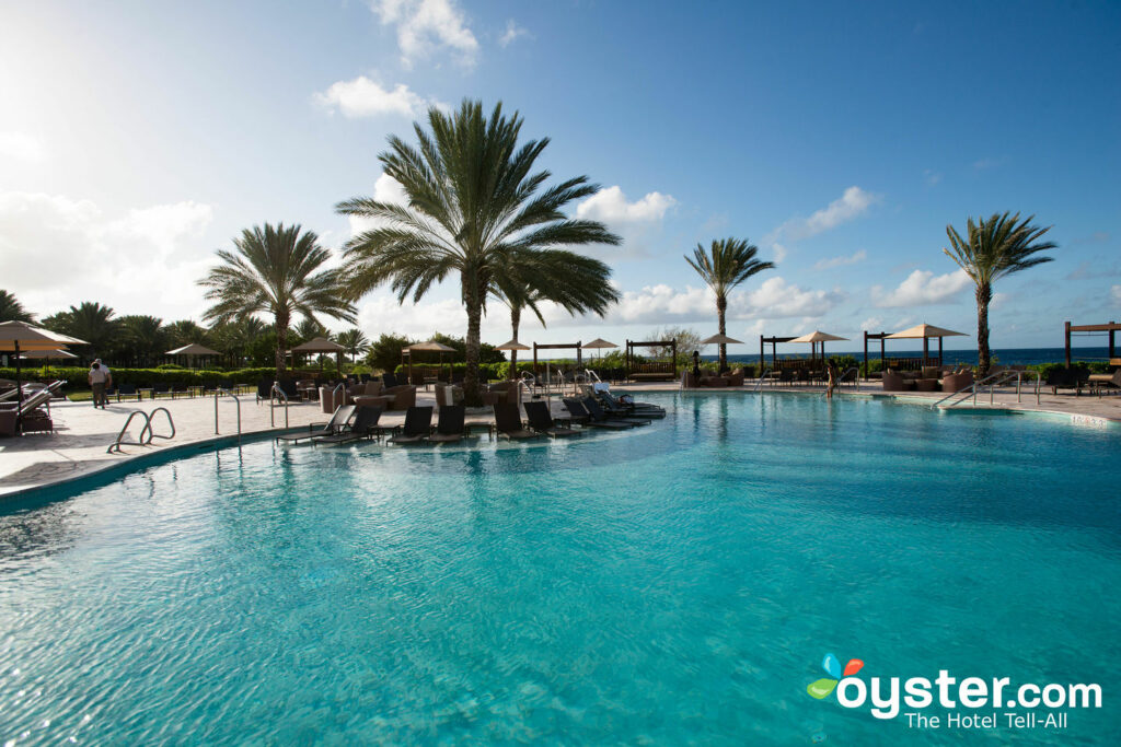 Main Pool at Santa Barbara Beach & Golf Resort, Curacao