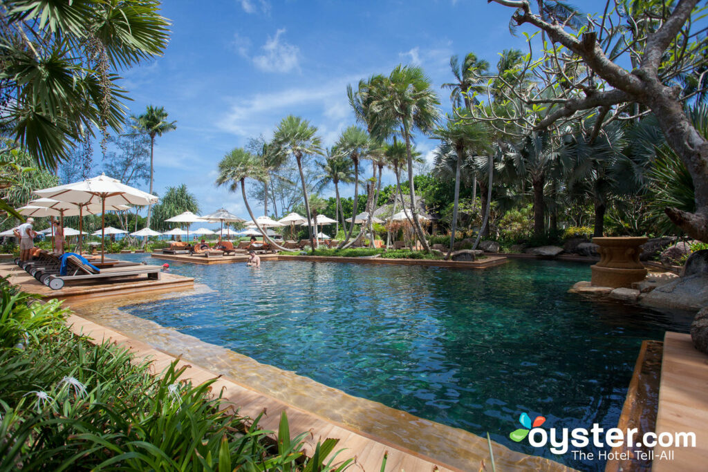 Piscina Norte no JW Marriott Phuket Resort & Spa