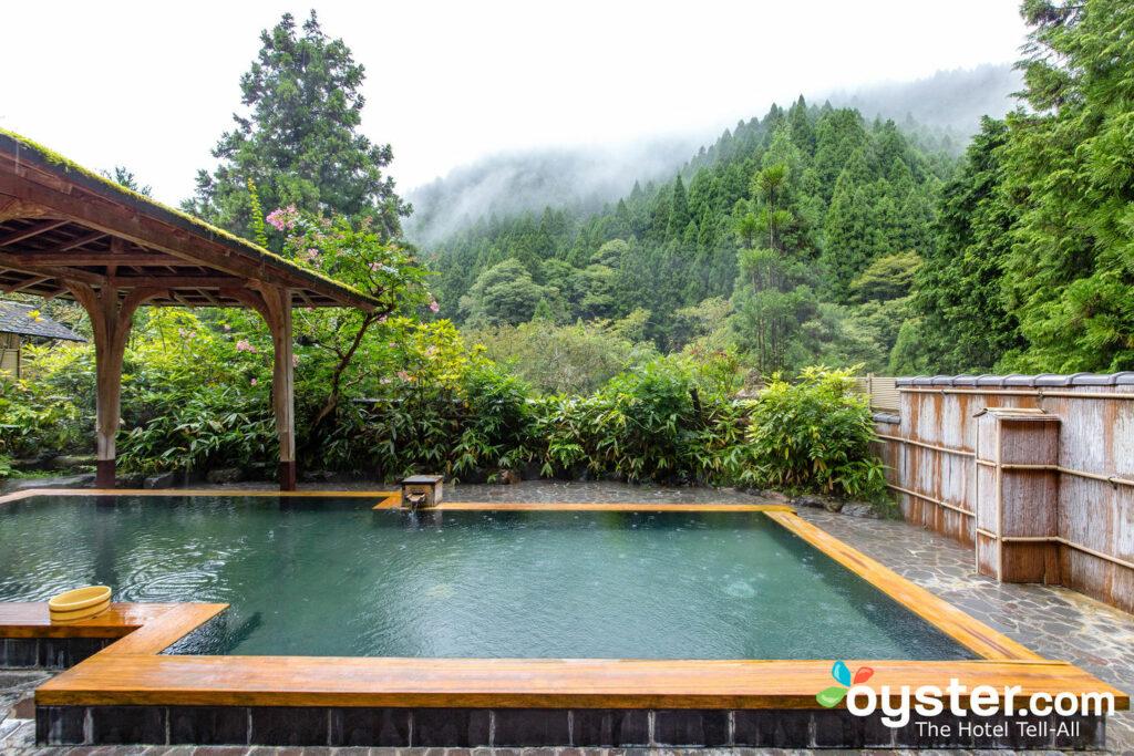 Baño en Kurama Onsen, Kyoto