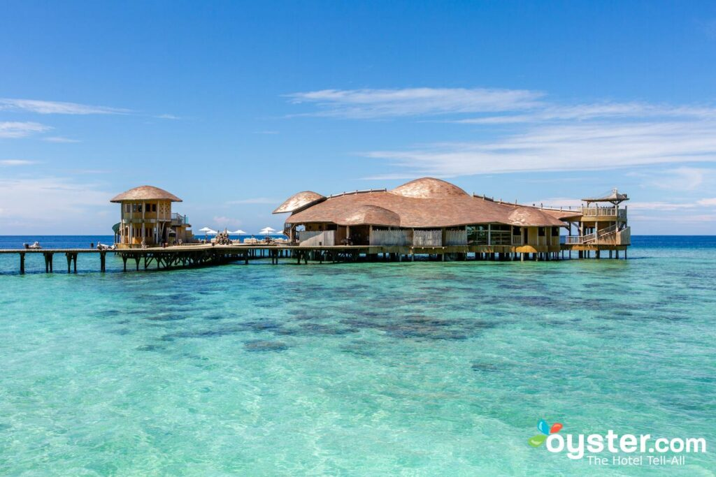 Out of the Blue at Soneva Fushi