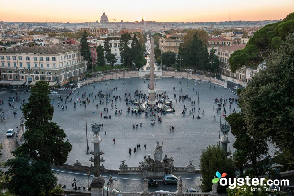 Piazza del Popolo in Campo Marzio, Rome