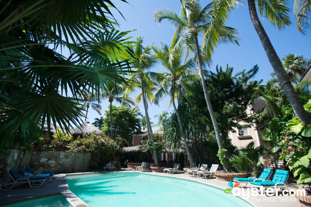 Pool im Hotel Santa Fe