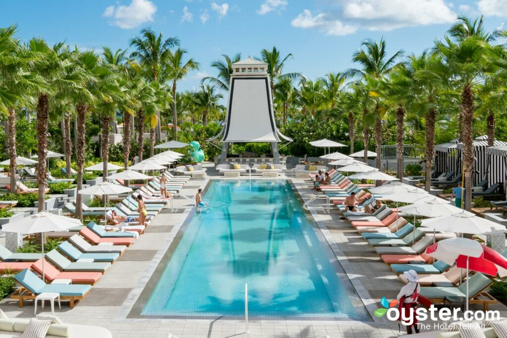 Pool at SLS Baha Mar