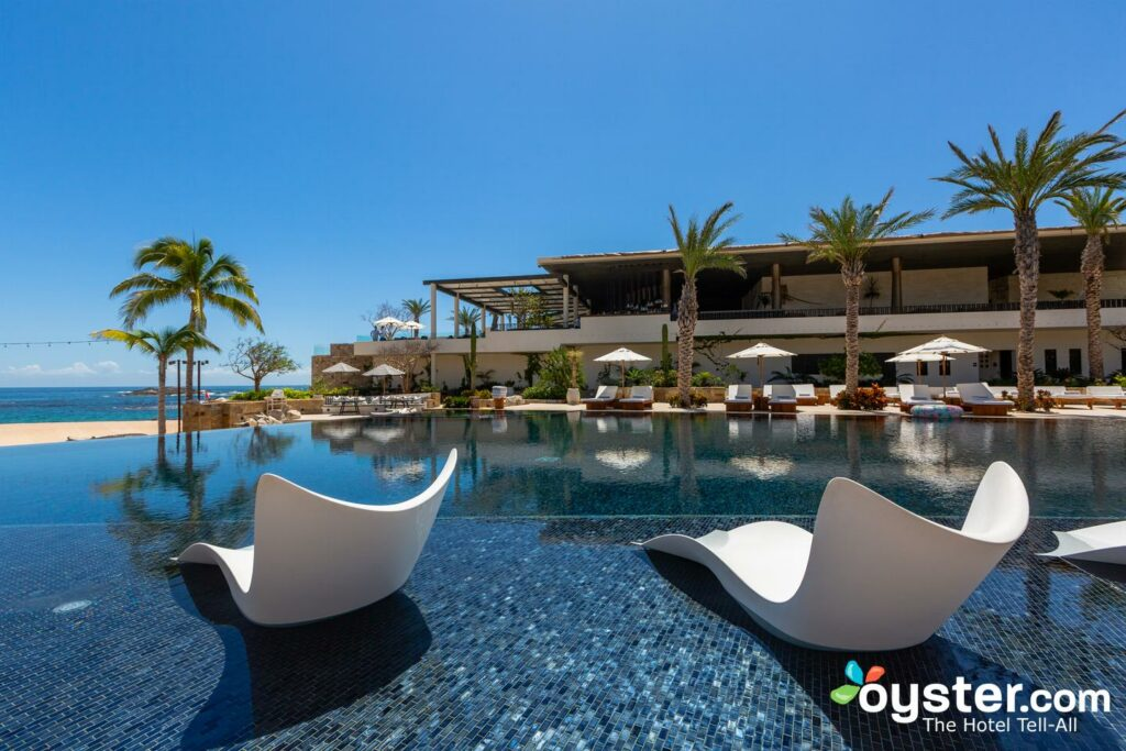 Chileno Bay's pools make for a stunning centerpiece/Oyster