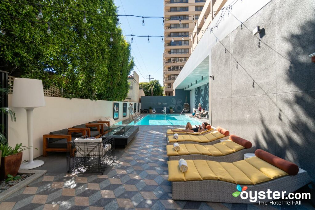Los Angeles Hotels With Indoor Pools