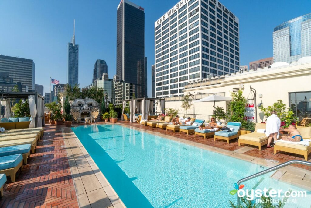 Pool at The NoMad Hotel Los Angeles