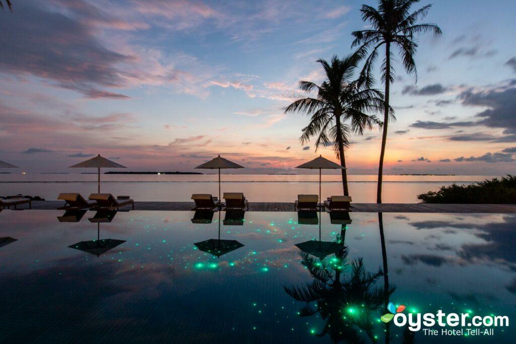 Pool at Noku Maldives
