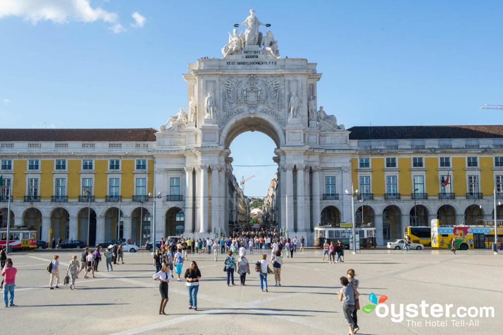 Praca do Comercio, Lisbona