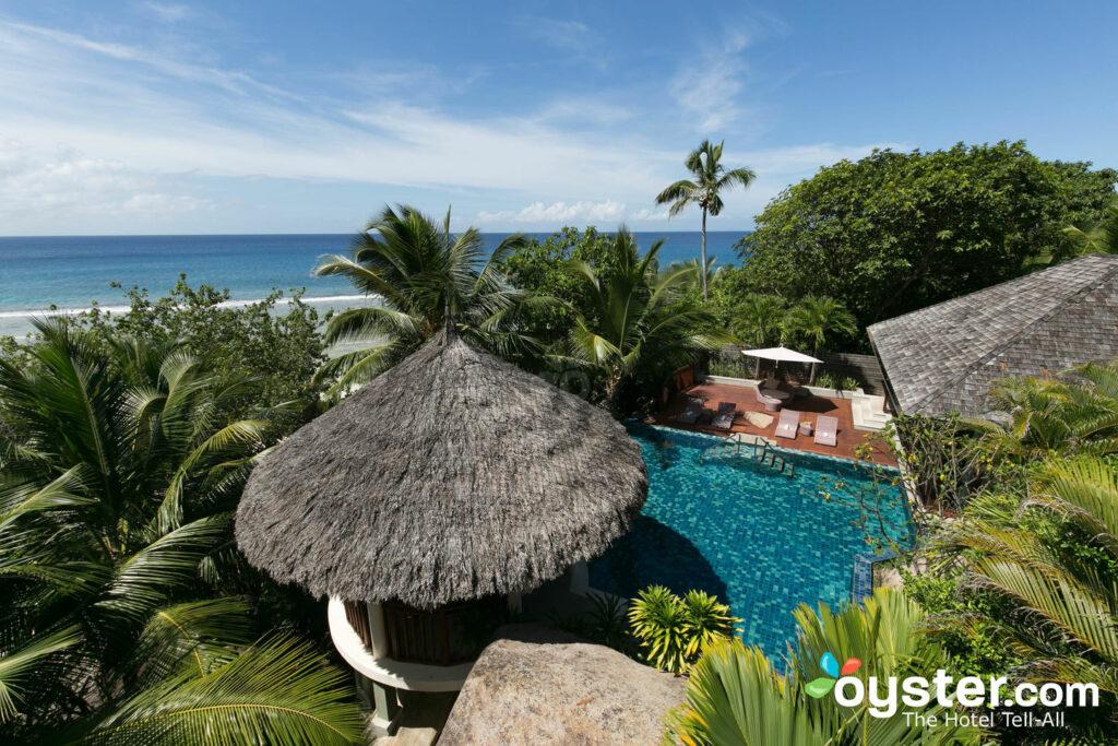 La villa presidencial en el Hilton Seychelles Labriz Resort & Spa