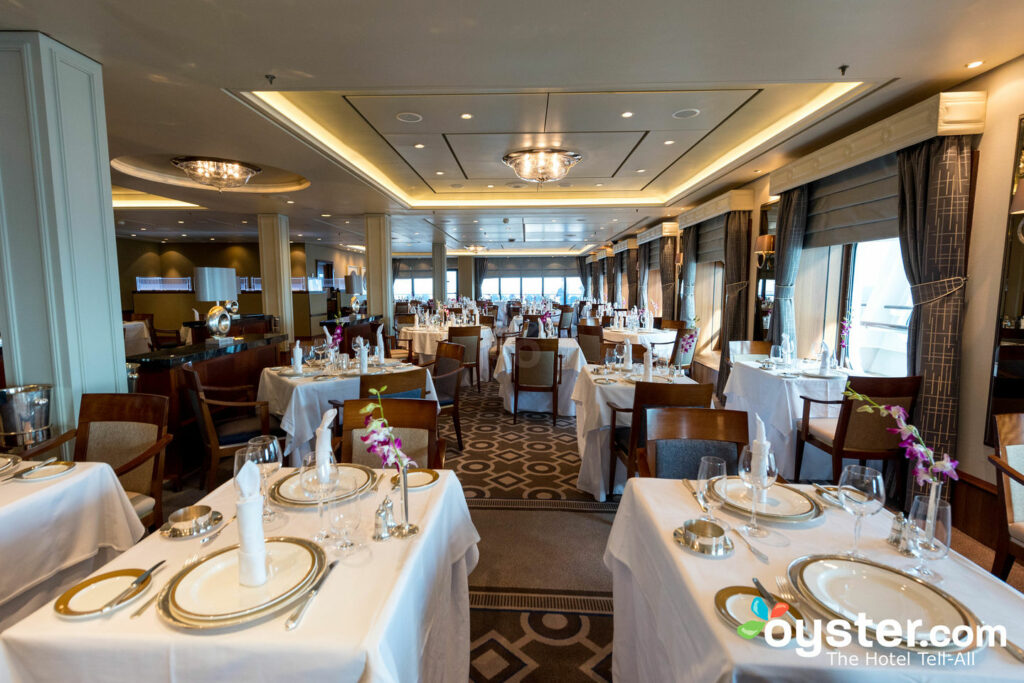 Princesa Grill em Queen Mary 2 (QM2), Cunard