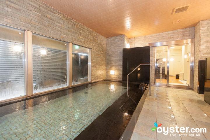 Baño público en el pueblo de Kyoto