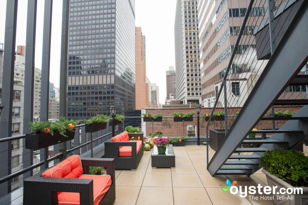Roof Terrace at Carvi Hotel New York