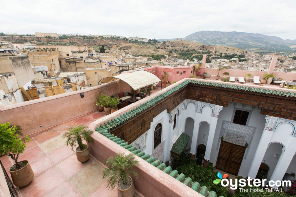 Rooftop at Riad Laaroussa Hotel and Spa in Fes