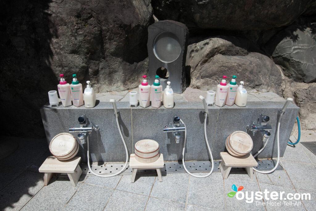 Zona de baño en Suimeikan, Gero