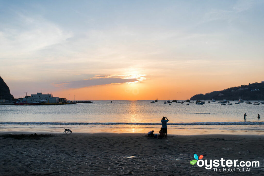 Beach at San Juan del Sur, Nicaragua
