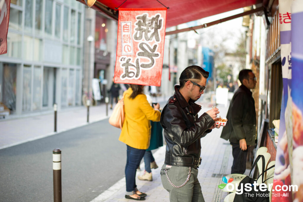 Cash is king at Tokyo's many streetside snack stands