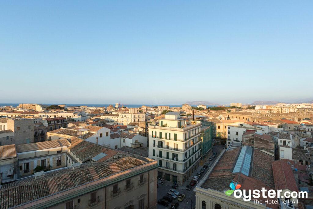 View from Ambasciatori Hotel in Palermo
