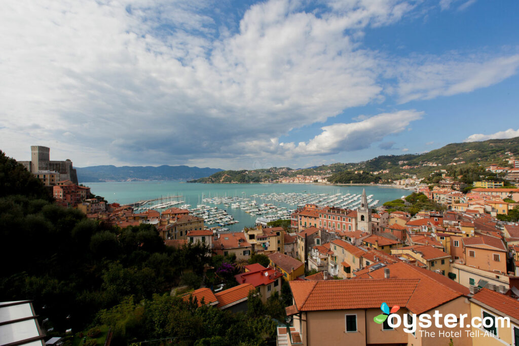 View from Special Room at Doria Park Hotel, Lerici