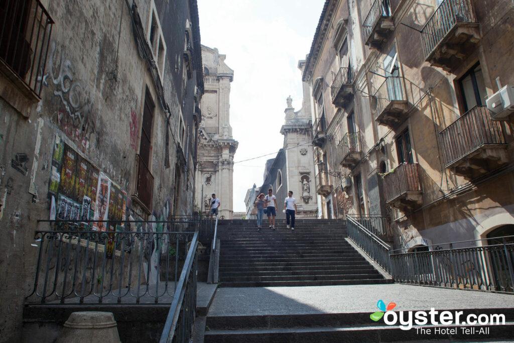 Calle del Hotel Il Principe, Catania