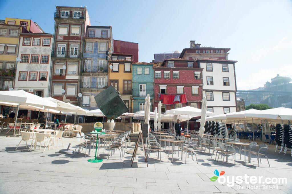 Straße im Pestana Porto Hotel