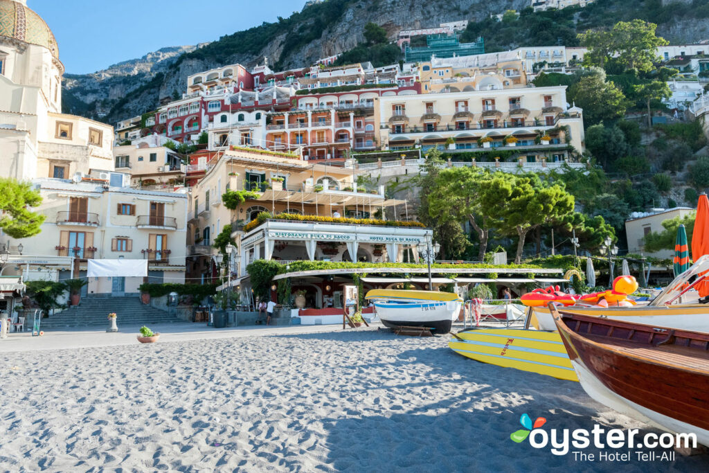 Beach at Hotel Buca di Bacco, Positano