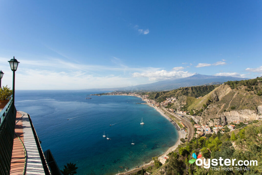 Vista desde el Hotel Villa Diodoro, Taormina.