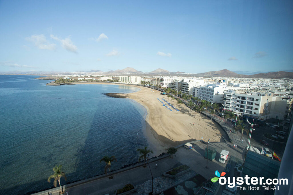 View from the Junior Suite at the Arrecife Gran Hotel, Lanzarote/Oyster