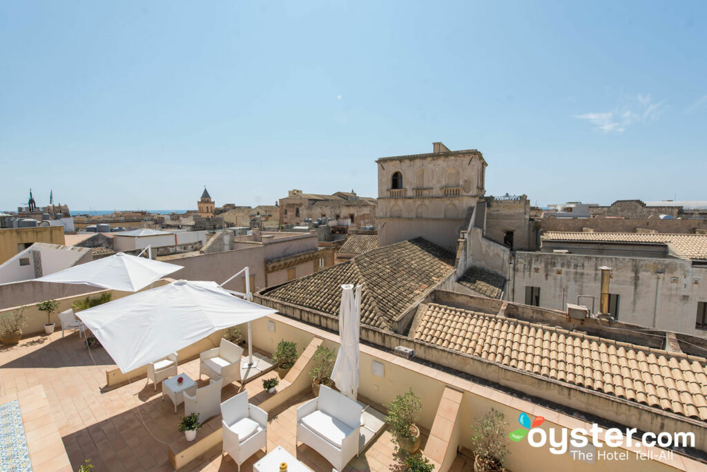 View from Badia Nuova Residence in Trapani